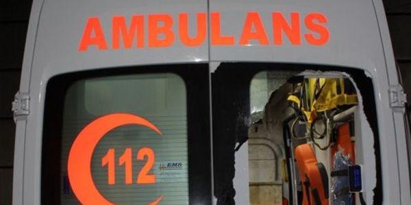'Ambulanslarla silah taşınıyor' iddiasına suç duyurusu