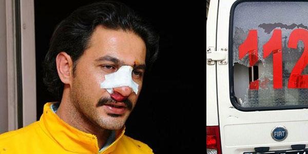 112 görevlisine saldırıya hapis cezası