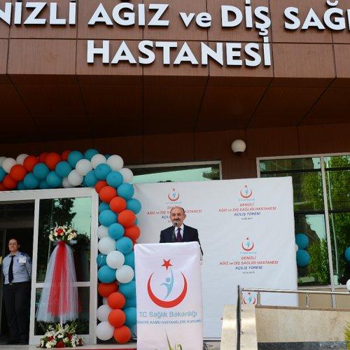 Mehmet Müezzinoğlu, Denizli'de Hastane Açtı
