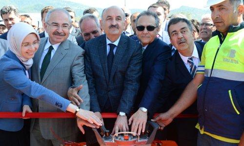 Müezzinoğlu, Havran Devlet Hastanesi'nin temelini attı