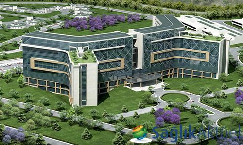 Mersin Şehir Hastanesi'nin yüzde 72'si tamamlandı