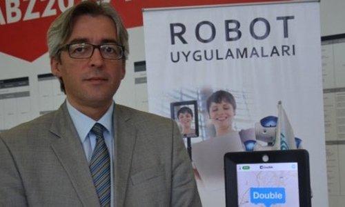 Hastaneler için akıllı robot yaptılar