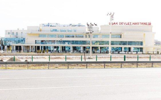 Uşak Devlet Hastanesi Kalp Damar Cerrahi ve Anjio ünitesi açıldı