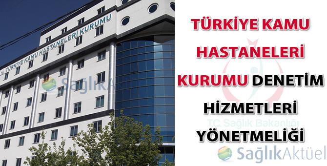 Türkiye Kamu Hastaneleri Kurumu Denetim Hizmetleri Yönetmeliği