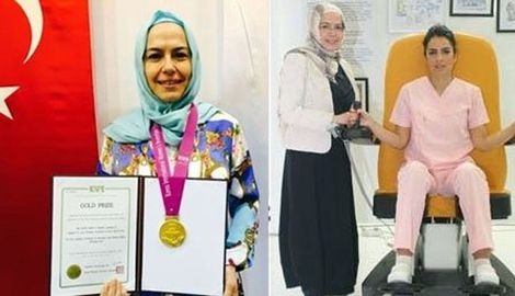 Kadın doğum uzmanının 'Dikey doğum koltuğu' altın madalya getirdi!