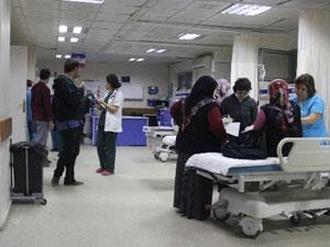 Hastanedeki jeneratöre borcundan dolayı el konuldu