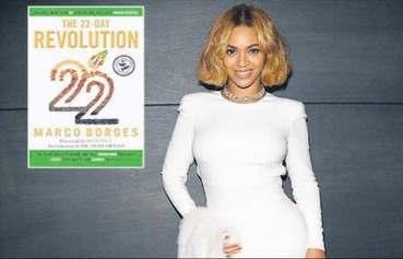 Vejetaryen Beyonce diyetin kitabını yazdı