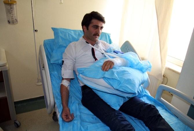Hastanede başhekim ile doktor kavgası / VİDEO