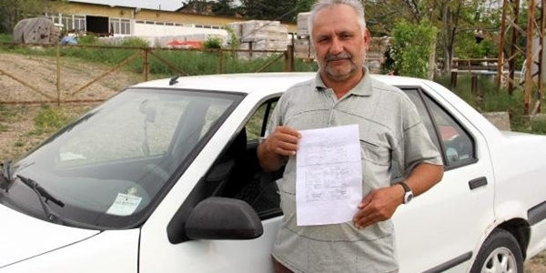 Eşini hastaneye götürürken kesilen trafik cezası iptal edildi