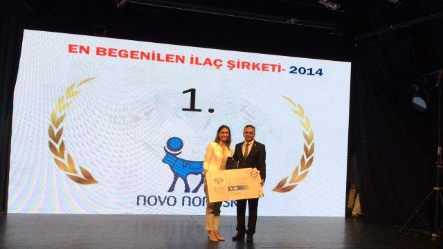 'NOVO Nordisk Tarzı' Elmas Ödül getirdi