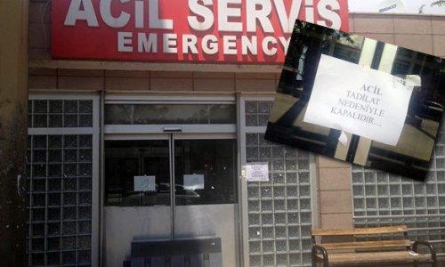 TKHK: Doktor yoktu, kapatıldı iddiaları gerçek değil