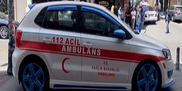 Sahte ambulans ihbarı polisi alarma geçirdi