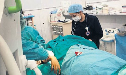 Suriye'de 630 doktor görev başında öldü