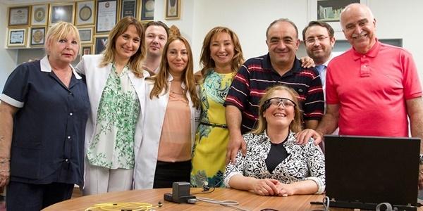 Türkiye'nin ilk biyonik göz ameliyatı yapıldı