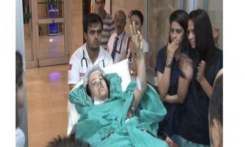 Bombalı saldırıda yaralanan Doktor Çağla İstanbul'da