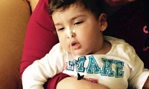 20 aylık çocuğun hayatını bir fıstık tanesi kararttı