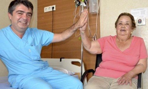 Meksikalı Maria, Türk doktorlarıyla sağlığına kavuştu
