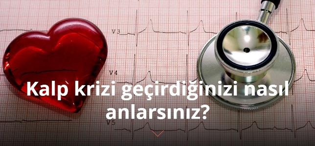 Kalp krizi geçirdiğinizi nasıl anlarsınız?