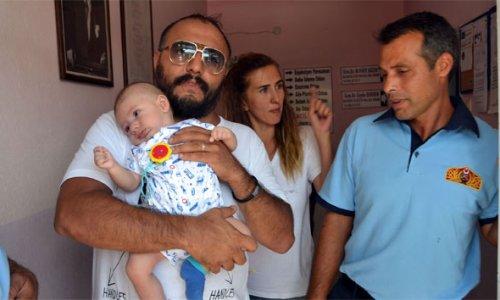 3 aylık bebek annesiyle sağlık ocağında mahsur kaldı