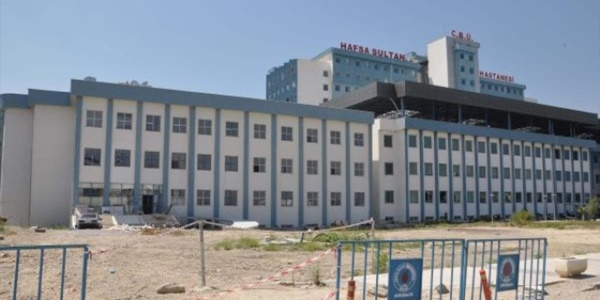 Üniversite hastanenin ek binası dere yatağına yapılmış