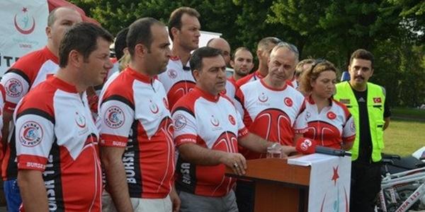 """""""Bisikletli 112"""" ekipleri göreve başladı"""