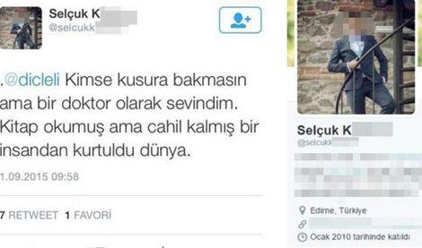 PKK'nın meslektaşını öldürmesine 'sevinen' doktora uzaklaştırma