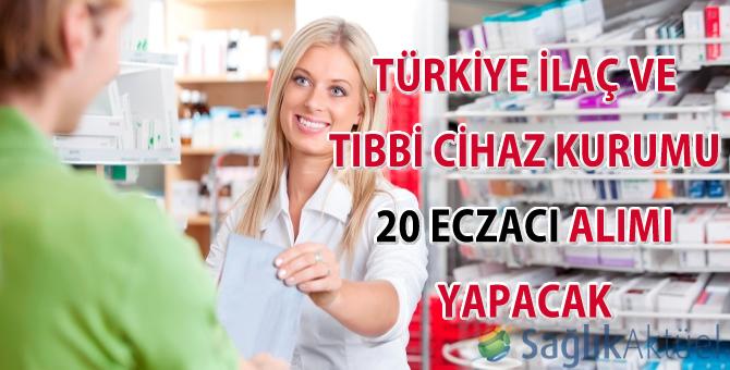 Türkiye İlaç ve Tıbbi Cihaz Kurumu 20 eczacı alımı yapacak