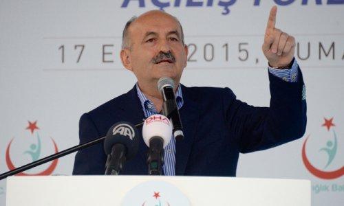 Bakan Müezzinoğlu İstanbul'da hastane açılışı yaptı