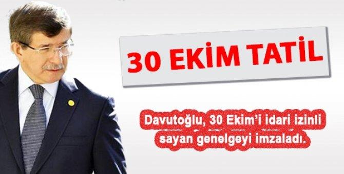 Kamu çalışanlarına 4,5 gün Cumhuriyet Bayramı tatili