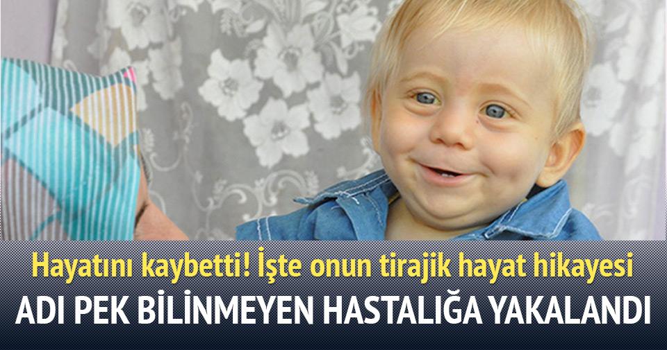 'Mavi ışık' hastası Mustafa bebek hayatını kaybetti