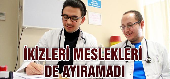 ikiz doktorlar aynı hastaneye atandı