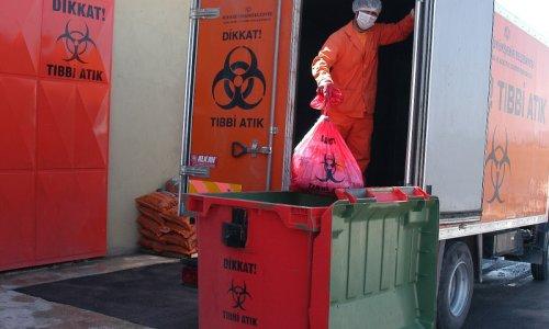 Tıbbi atıkların yüzde 23'ü İstanbul'dan çıktı