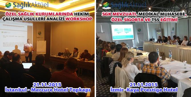 Sağlık Aktüel 21 Kasım eğitimleri başarıyla gerçekleştirildi!..