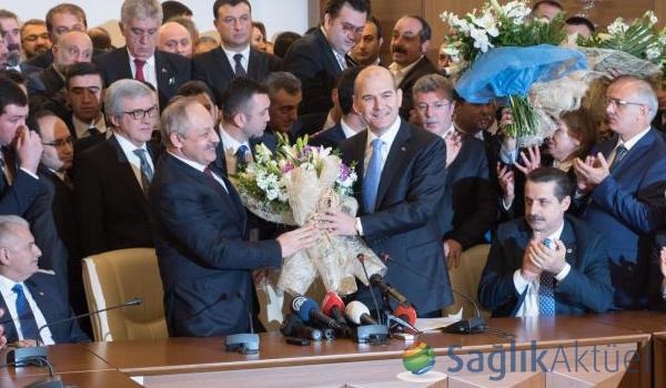Çalışma ve Sosyal Güvenlik Bakanlığında devir teslim töreni yapıldı