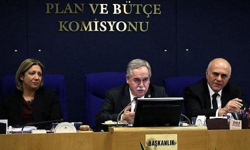 """""""Torba Tasarı"""" Plan ve Bütçe Komisyonu'nda"""