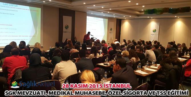 Sağlık Aktüel 28 Kasım İstanbul eğitimi başarıyla gerçekleştirildi!..