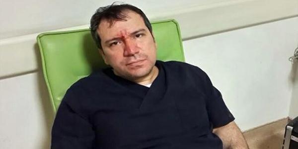 Sanıklar: Doktor yere düşerek yaralandı