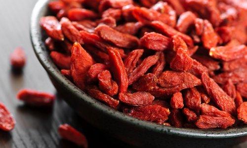 Goji berry meyvesi sağlık deposu