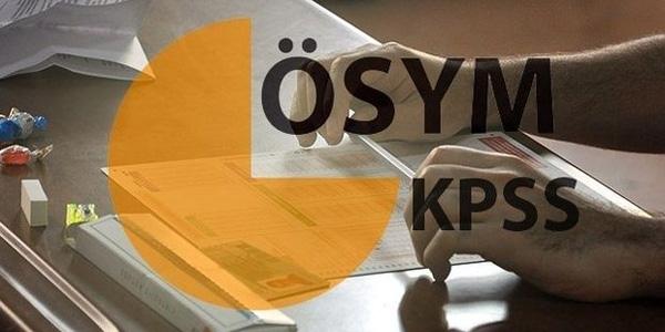 Kamuya KPSS ile 2 bin 38 personel alınacak