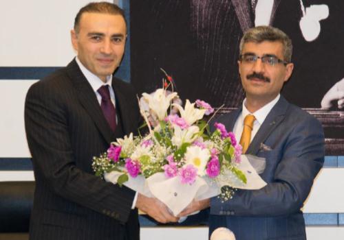 SGK Başkanı Dr. Mehmet Selim Bağlı göreve başladı