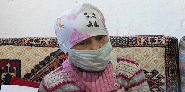 Kanser hastası Büşra'nın okul özlemi