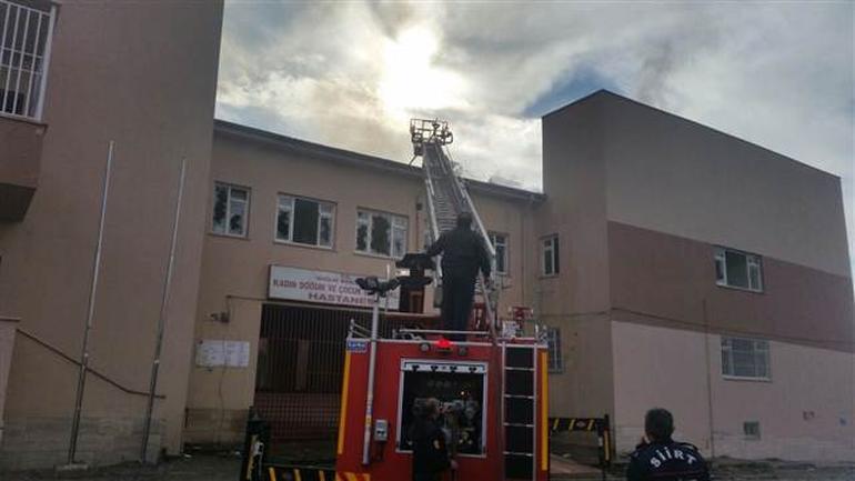 Siirt'te aynı hastane 3 kez yakıldı