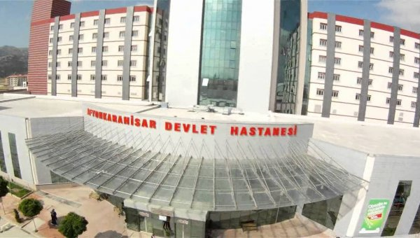 Afyonkarahisar Devlet Hastanesi'ne teşekkür belgesi verildi