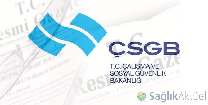 05/05/2016 tarihli Çalışma ve Sosyal Güvenlik Bakanlığı atama kararları