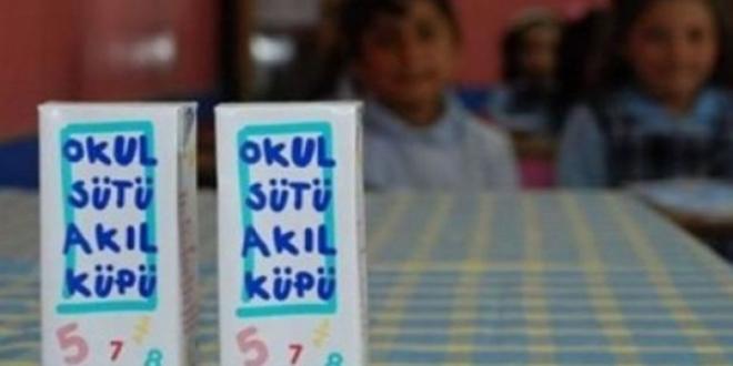 Diyarbakır'da 185 bin paket okul sütünün dağıtımı durduruldu