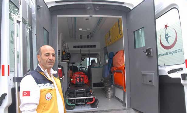 6 tonluk zırhlı ambulans