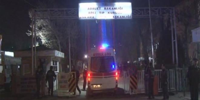Saldırıda hayatını kaybedenler Adli Tıp'a getiriliyor