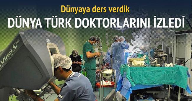 Türk doktorların ameliyatını dünya izledi