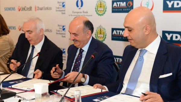 Konya Karatay Entegre Sağlık Kampüsü için imzalar atıldı