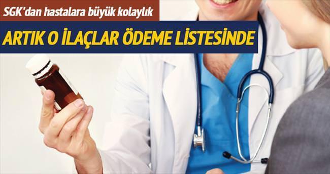23 ilaç SGK'nın ödeme listesine alındı